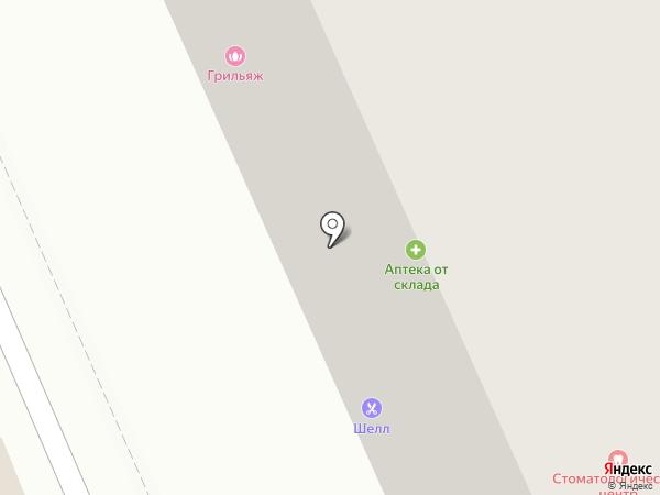 Монэ на карте Ангарска
