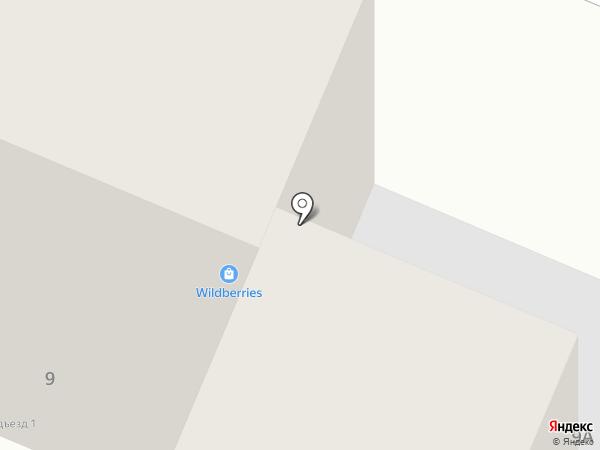 Армада на карте Ангарска