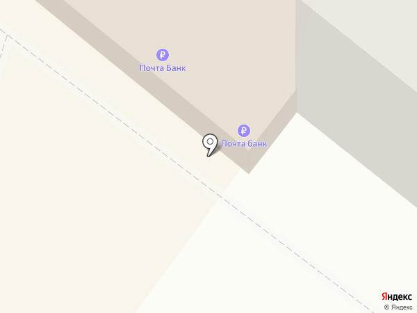 Почтовое отделение №41 на карте Ангарска