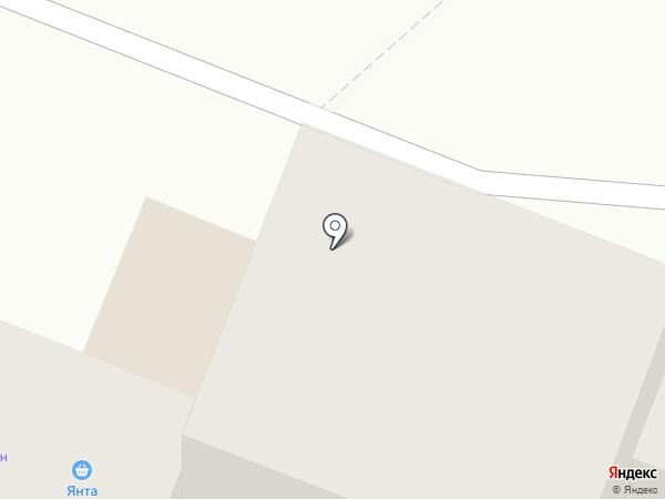 У дома на карте Ангарска