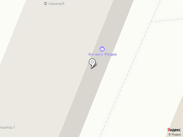 РТА телеком на карте Ангарска