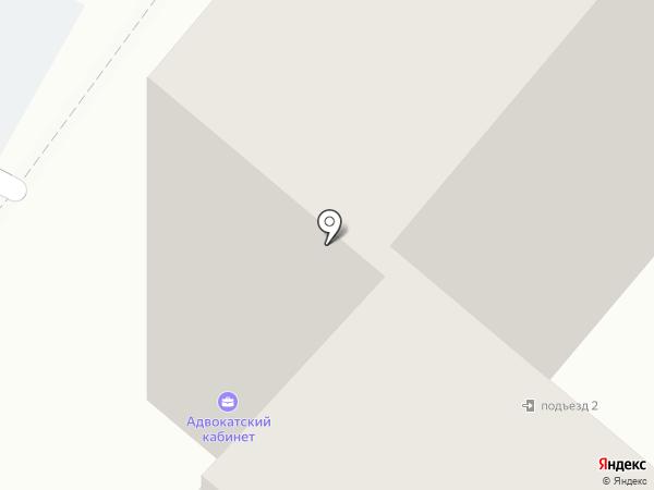 Адвокатский кабинет Кирсановой Н.И. на карте Ангарска