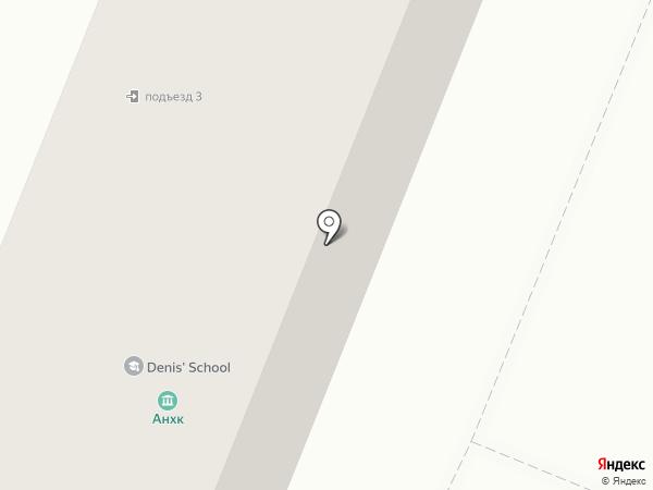 Павлин на карте Ангарска