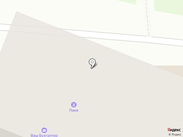Паки на карте Ангарска