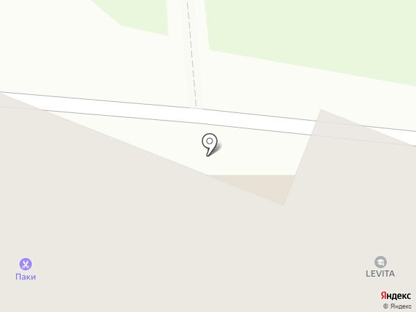 Магазин нижнего белья на карте Ангарска