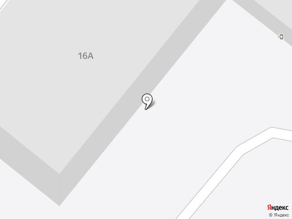 Ермак на карте Ангарска