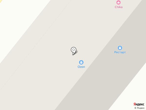Фантазерка на карте Ангарска