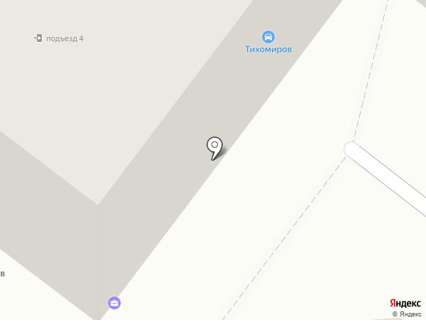 Ласка на карте Ангарска