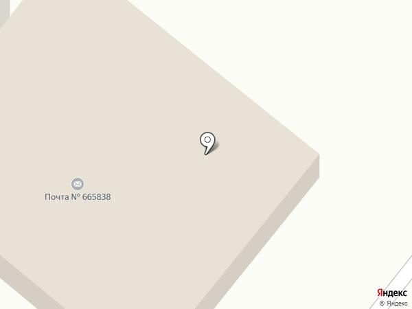 Почтовое отделение №38 на карте Ангарска