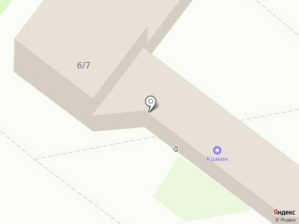 Круглый рынок на карте Ангарска