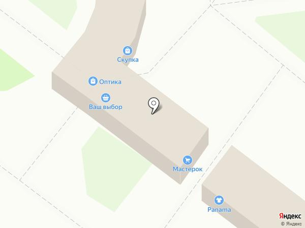 Мастерок на карте Ангарска