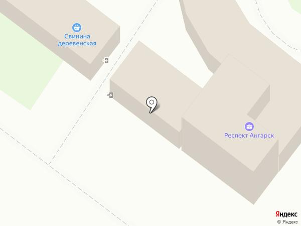 Оригинал на карте Ангарска