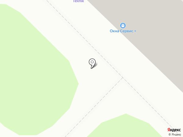 Годограф на карте Ангарска