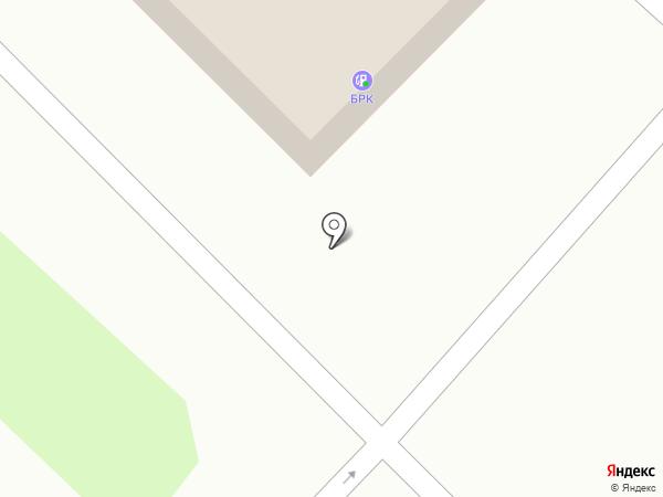 БРК на карте Ангарска