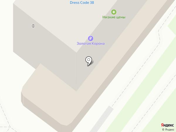 Банкомат, Банк Уралсиб, ПАО на карте Ангарска