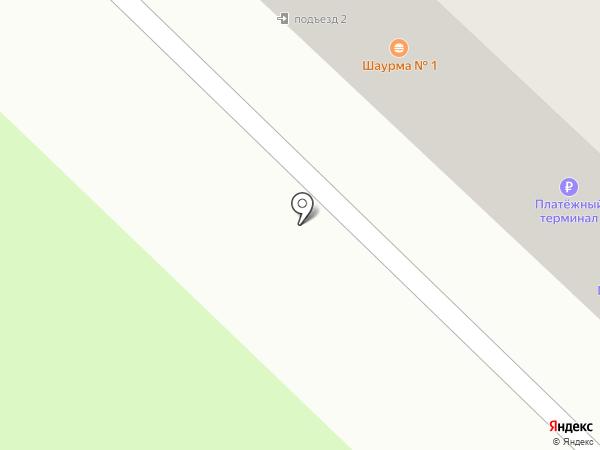 Амелия на карте Ангарска
