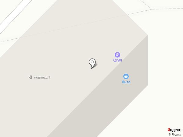 Столичный на карте Ангарска