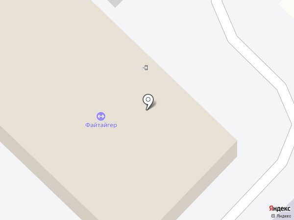 Файтайгер на карте Ангарска