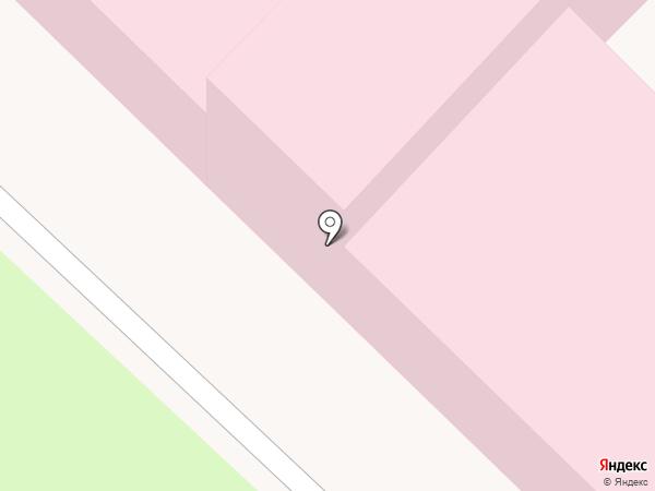 Городская детская больница №1 на карте Ангарска
