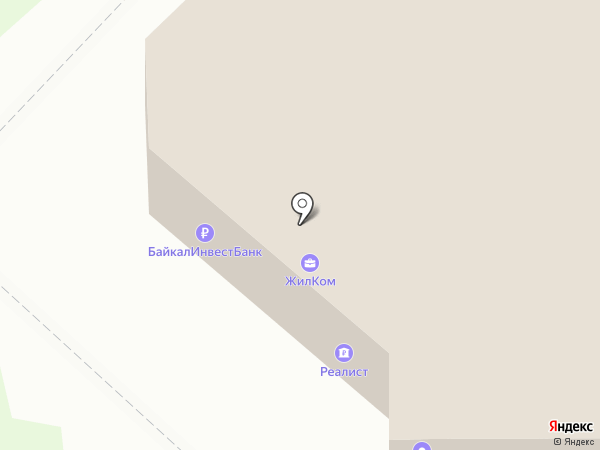 Байкалинвестбанк на карте Ангарска