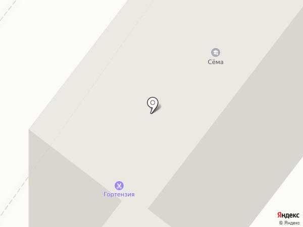 Орион на карте Ангарска