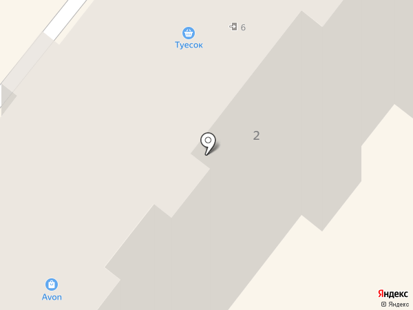 Мебельная компания на карте Ангарска