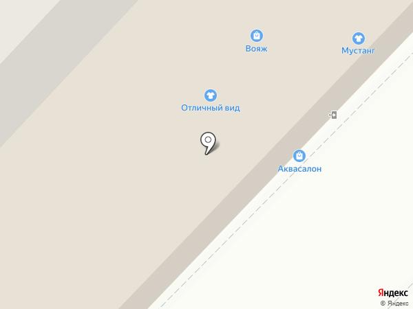 Отличный вид на карте Ангарска