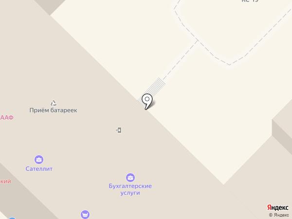 Армэль на карте Ангарска