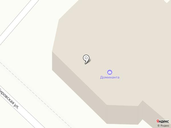 Доминанта на карте Ангарска