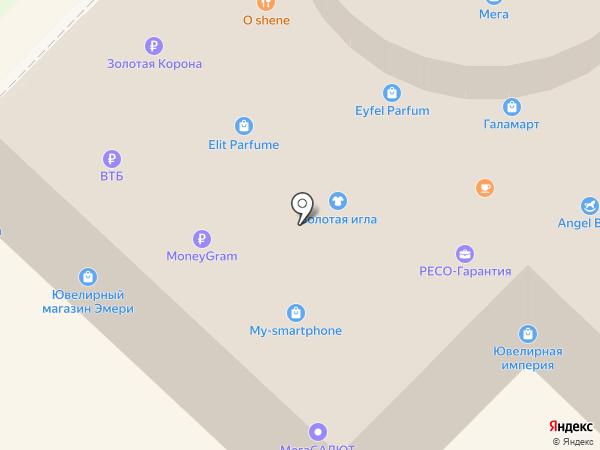 FashionZone на карте Ангарска