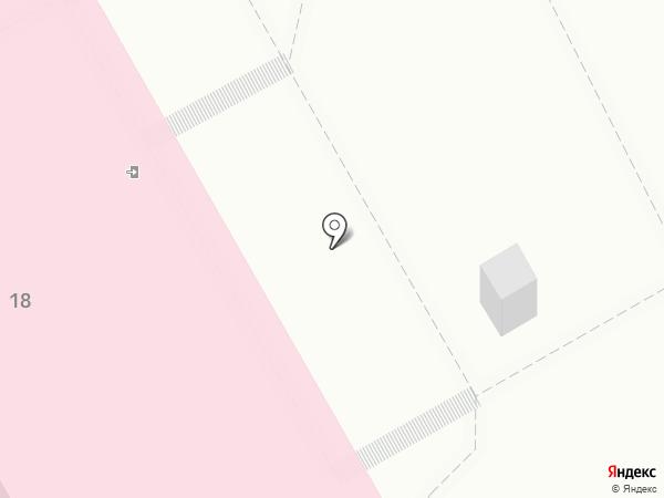 Детская поликлиника №4 на карте Ангарска