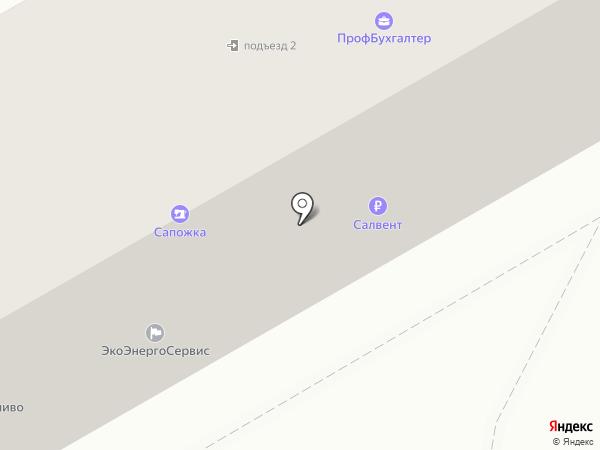 РусТопливо на карте Ангарска