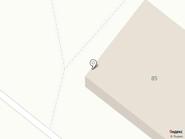 Белореченский на карте Ангарска