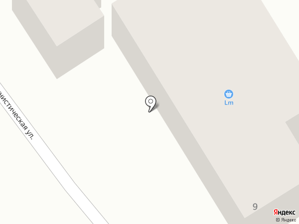 LM на карте Ангарска