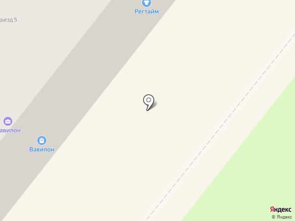 Регтайм на карте Ангарска