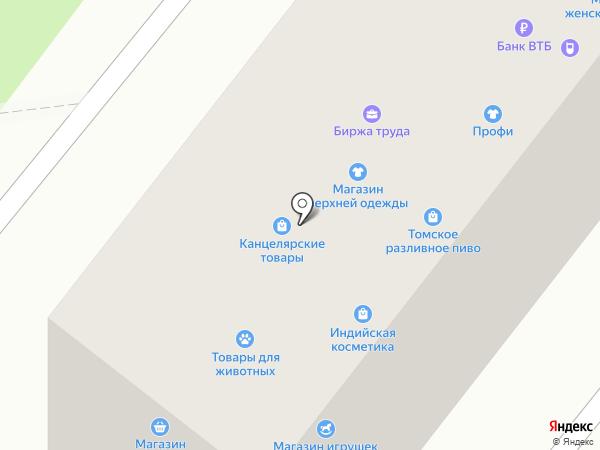 Магазин садово-хозяйственных товаров на карте Ангарска