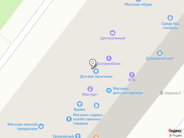 Магазин мясной продукции на карте Ангарска