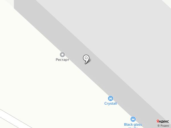 Рестарт на карте Ангарска