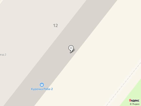 Гольфстрим на карте Ангарска