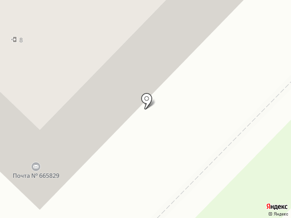 Почтовое отделение №29 на карте Ангарска