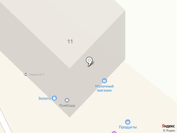 Алмаз-Инвест Ломбард на карте Ангарска
