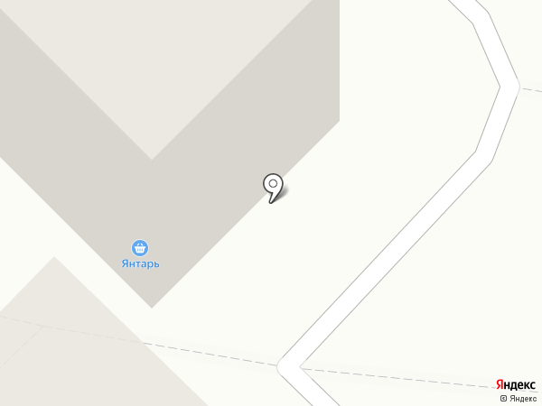 Янтарь на карте Ангарска