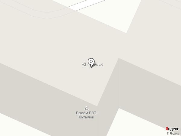Эталон на карте Ангарска