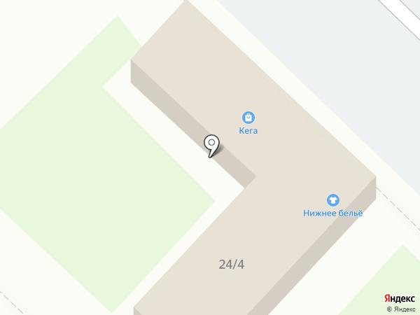Кега на карте Ангарска