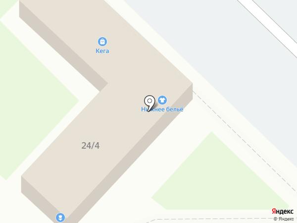 Элегант на карте Ангарска