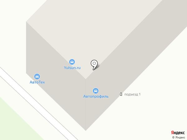 Yulsun на карте Ангарска