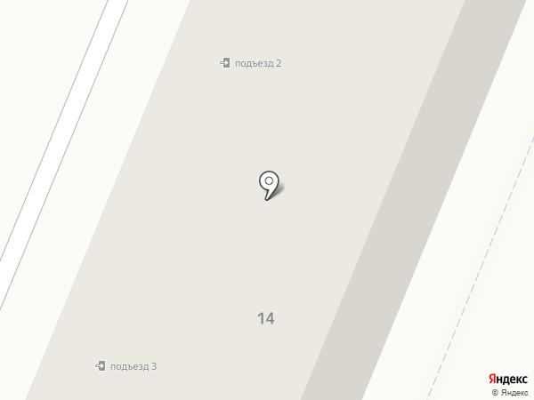 Сибирский на карте Ангарска