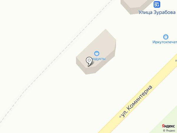 7 микрорайон на карте Ангарска