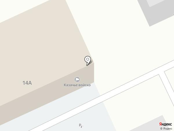 Казачка на карте Ангарска