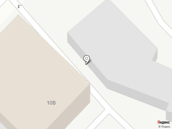Хвойный на карте Ангарска